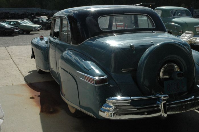1947 Lincoln Club Coupe 6