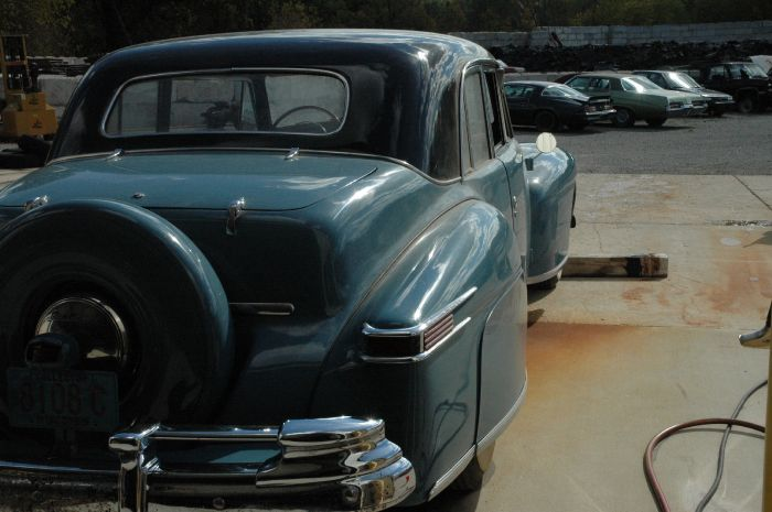 1947 Lincoln Club Coupe 7
