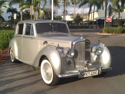 1951 Bentley Mark VI Silver Dawn