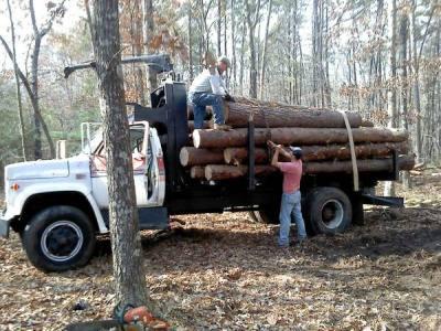 1977 GMC Log Truck
