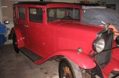 1930 Hupmobile Sedan