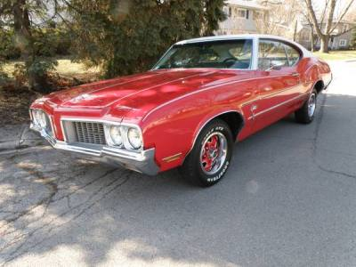 1970 Oldsmobile Cutlass S-type