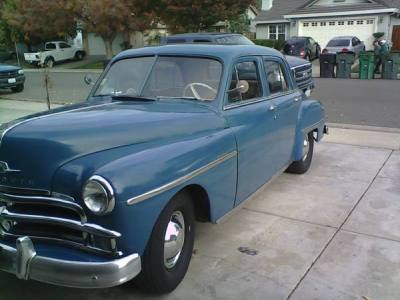 1950 Plymouth Deluxe