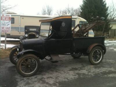 1925 Ford Model T T Tow Truck