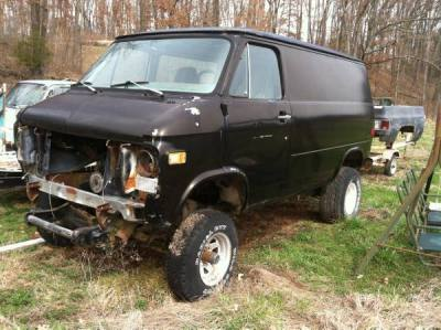 1979 Chevrolet Short Van