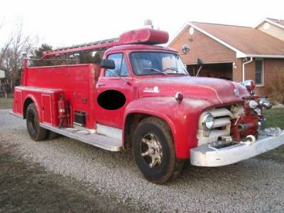1955 Ford F700 Fire Truck