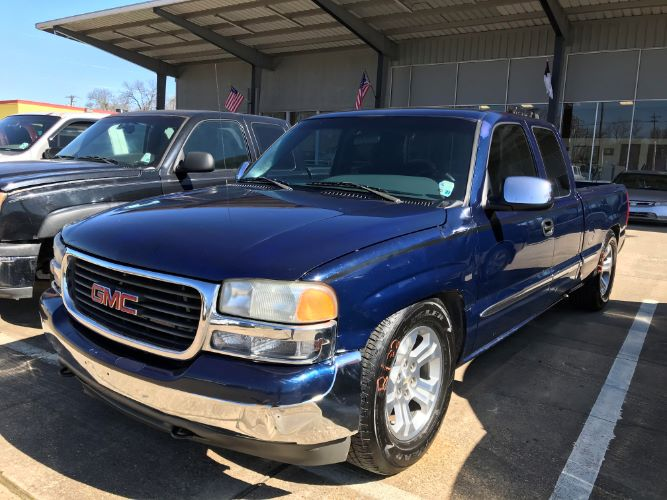 2001 GMC NEW SIERRA 1500