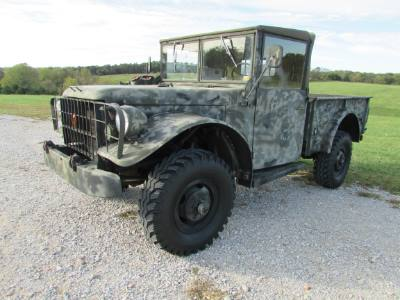 1953 Dodge M-37 military vehicle