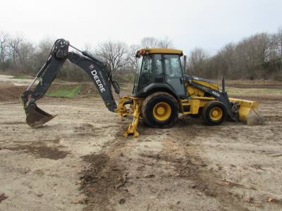 2014 John Deer 410k backhoe