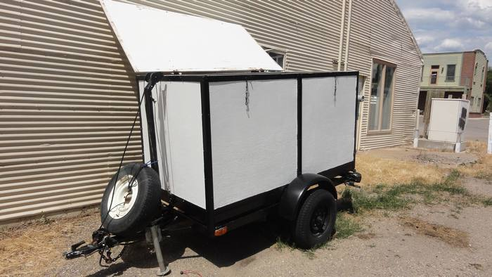 2003 Home Made Enclosed Trailer