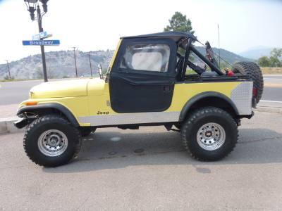 1983 Jeep CJ 4WD CJ7