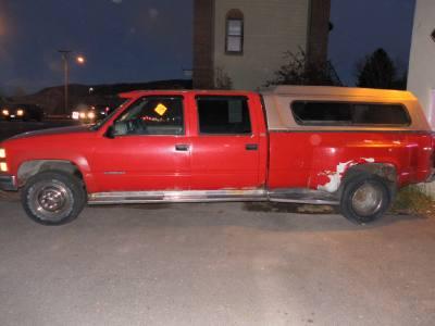 1996 Chevrolet C/K 3500 Crew Cab