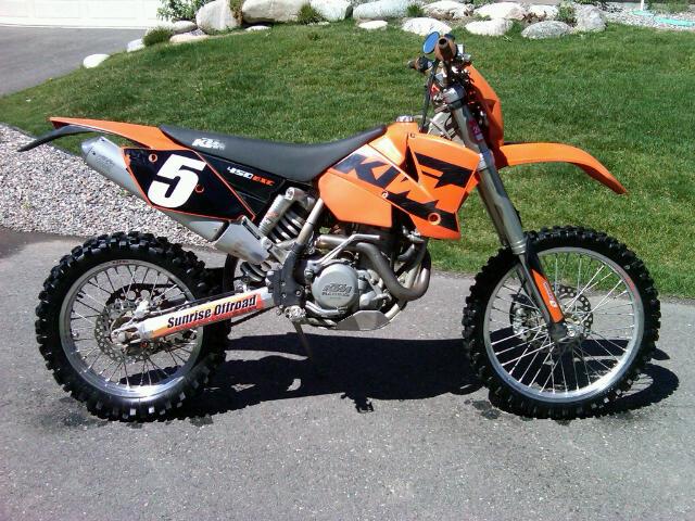 2004 KTM 450 EXC