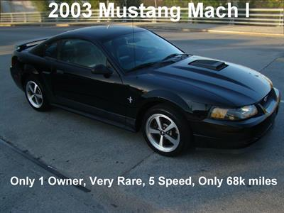 2003 Ford Mustang Mach I