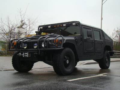 2000 AM General Hummer Slantback