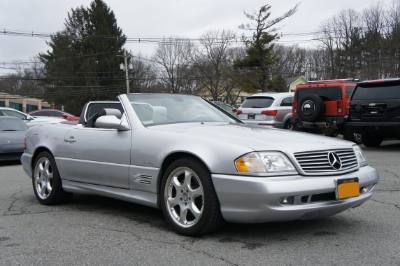 2002 Mercedes-Benz SL-Class SL500 Silver Arrow Edition