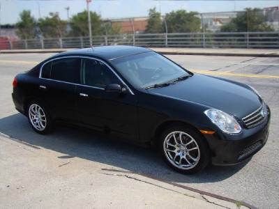 2005 Infiniti G35 Sedan manual 6 Speed