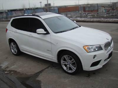 2011 BMW X3 35i