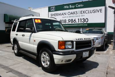 2000 Land Rover Discovery Series II Leather