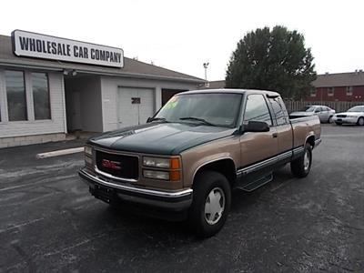 1996 GMC Sierra 1500 SLE Ext. Cab 4x4