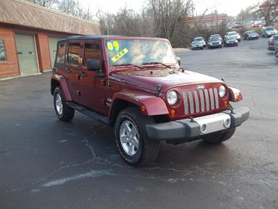 2009 Jeep Wrangler Unlimited Sahara 4x4