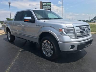 2014 Ford F-150 Platinum Edition SuperCrew 4WD