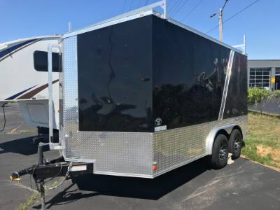 2016 Covered Wagon Trailer Enclosed V-nose Hauler