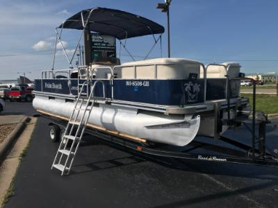 2002 Palm Beach Fisher 24' Tritoon