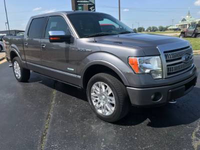 2012 Ford F-150 SuperCrew 4WD Platinum Edition
