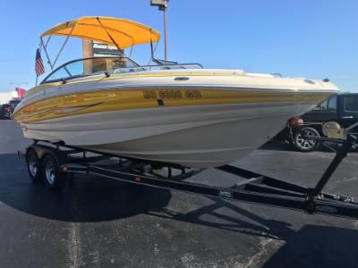 2008 Azure AZ 220 22' Deckboat
