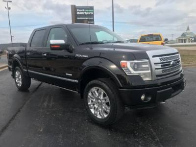 2014 Ford F-150 SuperCrew 4WD Platinum Edition