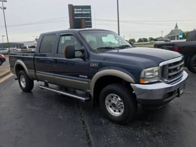 2004 Ford Super Duty F-250 Crew Lariat Powerstroke diesel