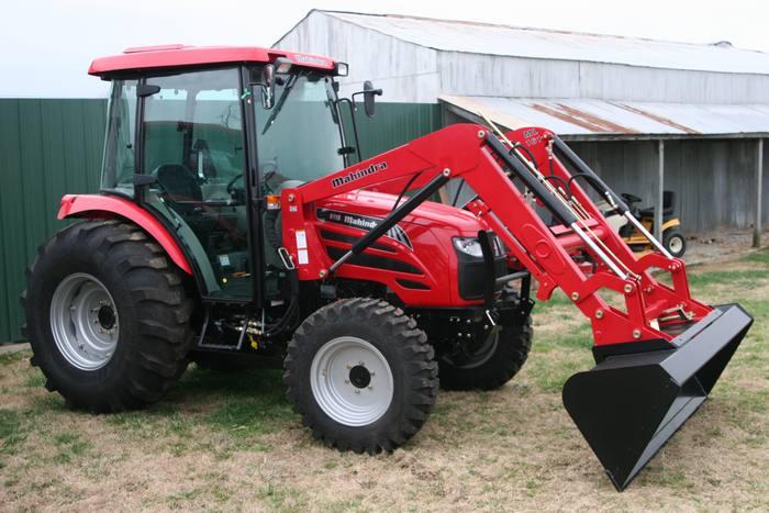 2012 Mahindra 6110