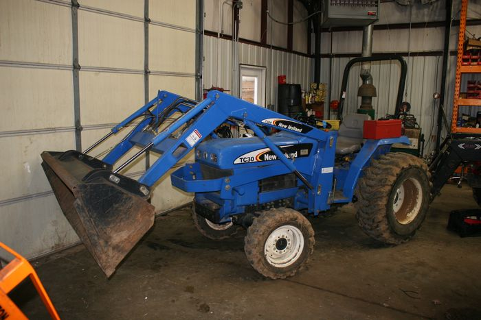 1950-1980 Ford New Holland TC30