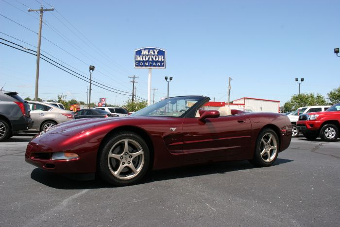 2003 Chevrolet Corvette Anniversary Convertible