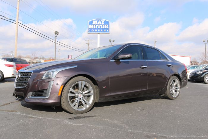 2014 Cadillac CTS Sedan V-Sport Premium Twin Turbo