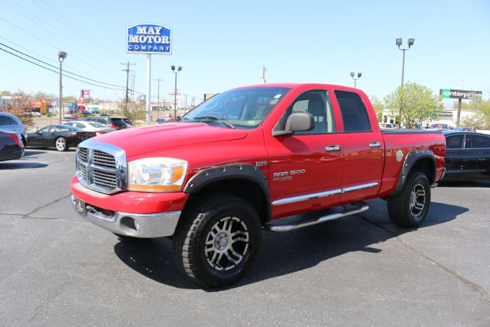 2006 Dodge Ram Quad Cab Lifted SLT 4X4