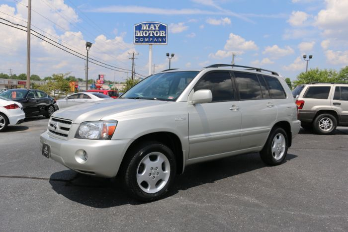 2006 Toyota Highlander w/3rd Row