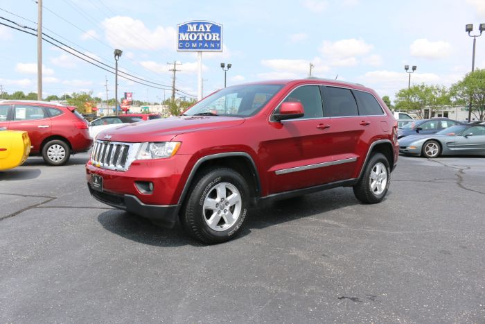 2012 Jeep Grand Cherokee Laredo 4X4 w/Leather