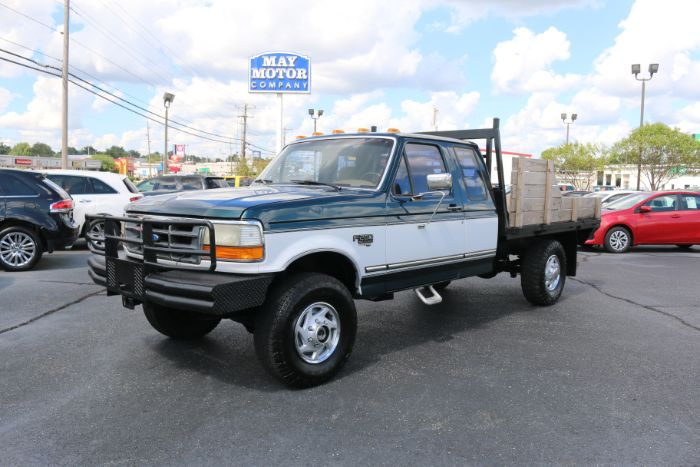 1995 Ford F-250 Super Cab Flatbed 4X4
