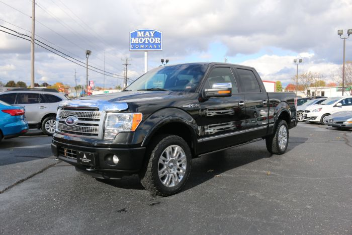 2012 Ford F-150 Supercrew 4x4 Platinum