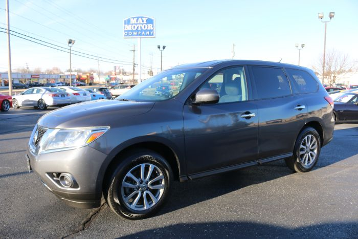 2014 Nissan Pathfinder AWD w/3RD ROW