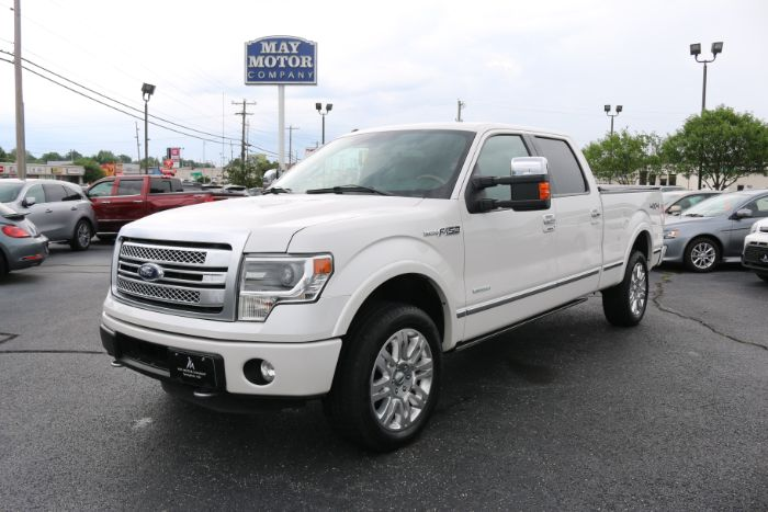 2014 Ford F-150 Super Crew Platinum 4X4
