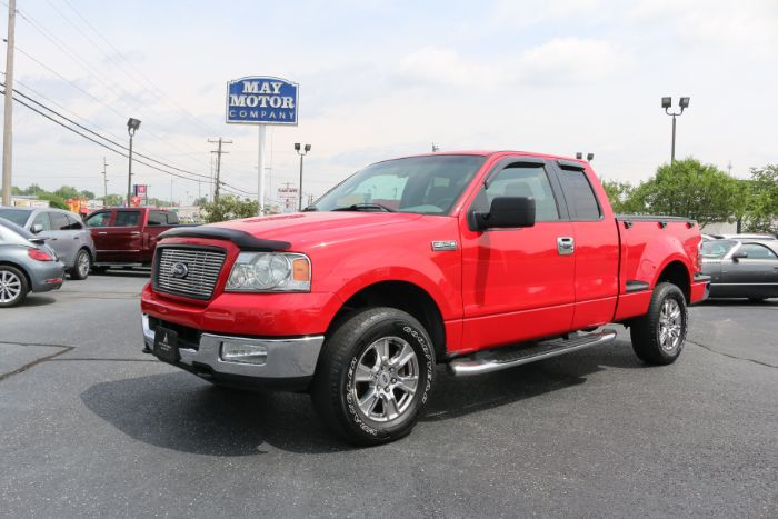 2005 Ford F-150 Super Cab XLT Stepside 4X4