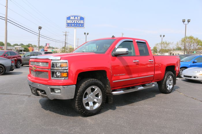 2014 Chevrolet Double Cab LTZ 4X4