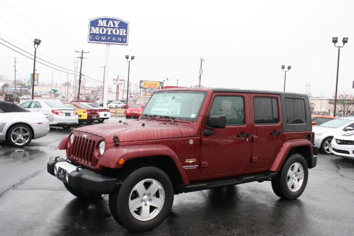 2008 Jeep Wrangler Unlimited Sahara 4X4 Unlimited Sahara