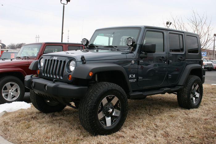 2008 Jeep Wrangle Unlimited X 4X4