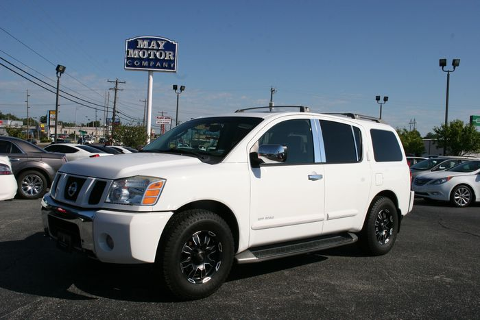 2004 Nissan Pathfinder Armada SE Off-Road