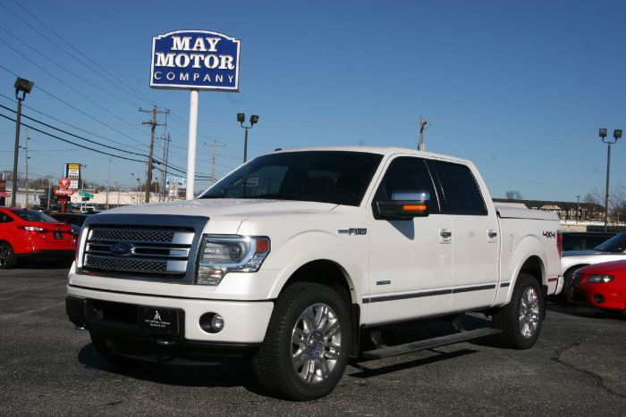 2013 Ford Crew Cab Platinum Eco Boost 4X4