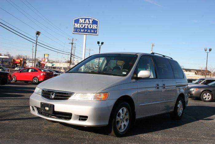 2002 Honda Odyssey EX-L w/Leather